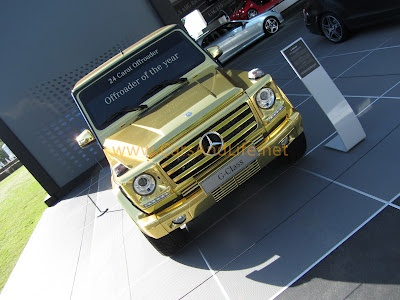 Cars & Life | Cars Fashion Lifestyle Blog: Goodwood Festival of Speed: Gold Mercedes G-Wagen