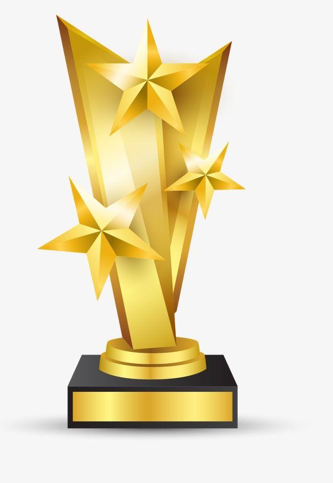 gold trophy  trophies  gold  award png transparent image
