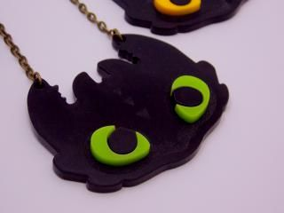 toooothless, you useless reptile  fanmade necklace for my astrid costume
