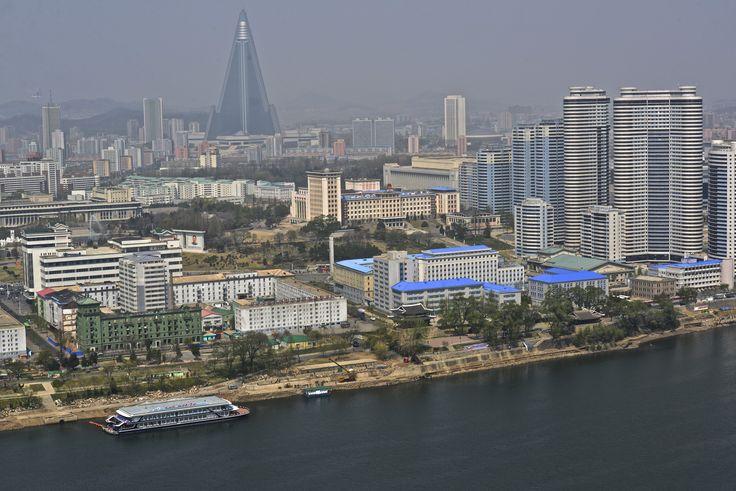 Bird eye view - Pyongyang city