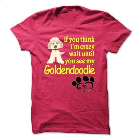 Funny Tshirt Goldendoodle - #silk shirt #men t shirts. PURCHASE NOW => https://www.sunfrog.com/Pets/Funny-Tshirt-Goldendoodle.html?60505