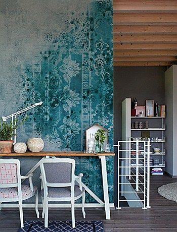 BRUSH / Designer Giovanni Pesce / Carta da parati Wall&Decò #wallpaper #art #design