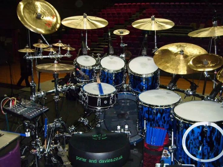 how to set up a drum kit