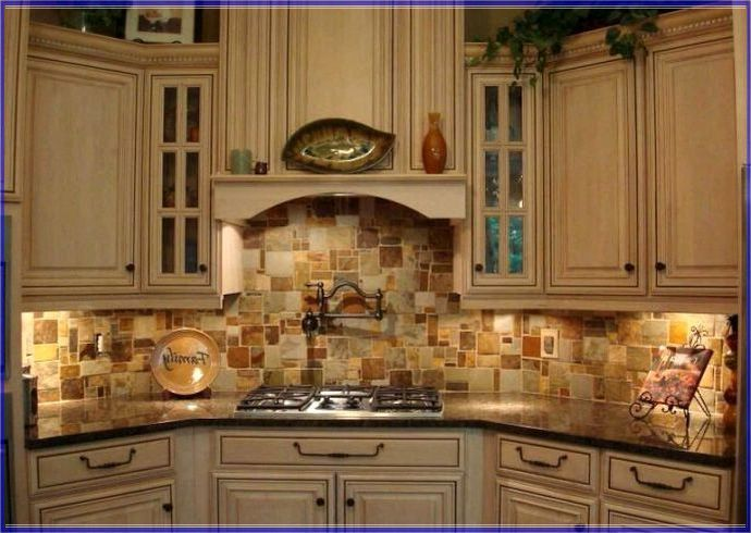 stone copper tiles backsplash for the home pinterest