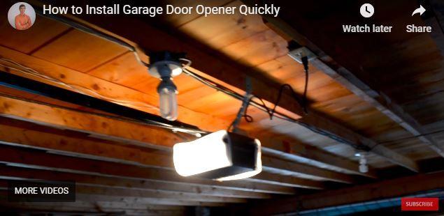Garage Door Opener Installation Garage Door Installation Garage Door Makeover