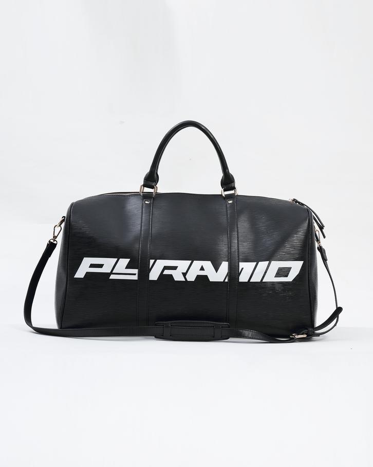 Lux Pyramid weekend Duffle Bag - 1SFA   BLACK  3234225f24303