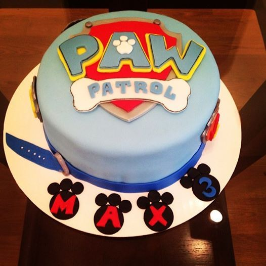 Paw Patrol Themed on oscar party ideas cake decorating
