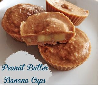 Peanut Butter Banana Cups 21 day fix approved