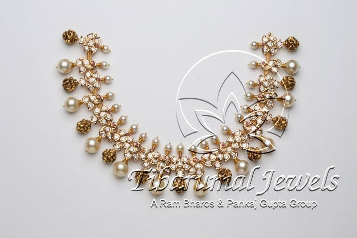 Flat Diamond Necklace | Tibarumal Jewels | Jewellers of Gems, Pearls, Diamonds, and Precious Stones