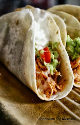 crock pot tacos! | Want...Need...Love! | Pinterest | Chicken tacos, Recipes and Tacos
