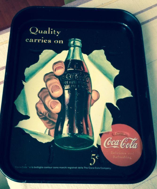 Vassoio Vintage #CocaCola