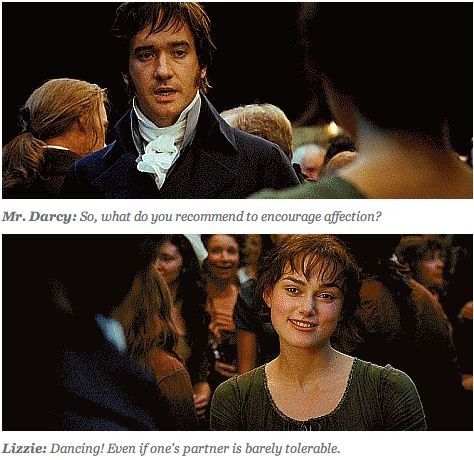 mr darcy so what do you recommend to encourage affection elizabeth bennet dancing even if. Black Bedroom Furniture Sets. Home Design Ideas