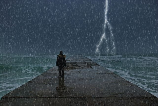 Alone Boy Images in Rain Free Download | wallpaper ...