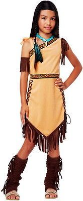 Native American Princess Pocahontas Indian Costume Halloween Outfit Child Girls…