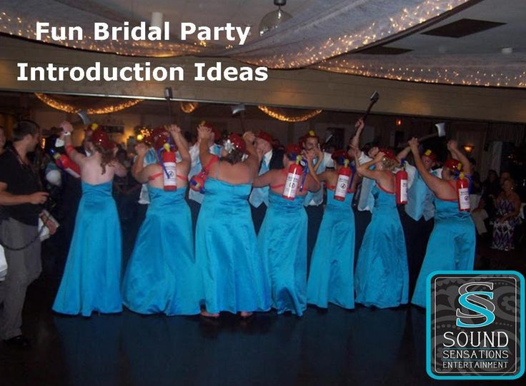fun bridal party introduction ideas that will engage your