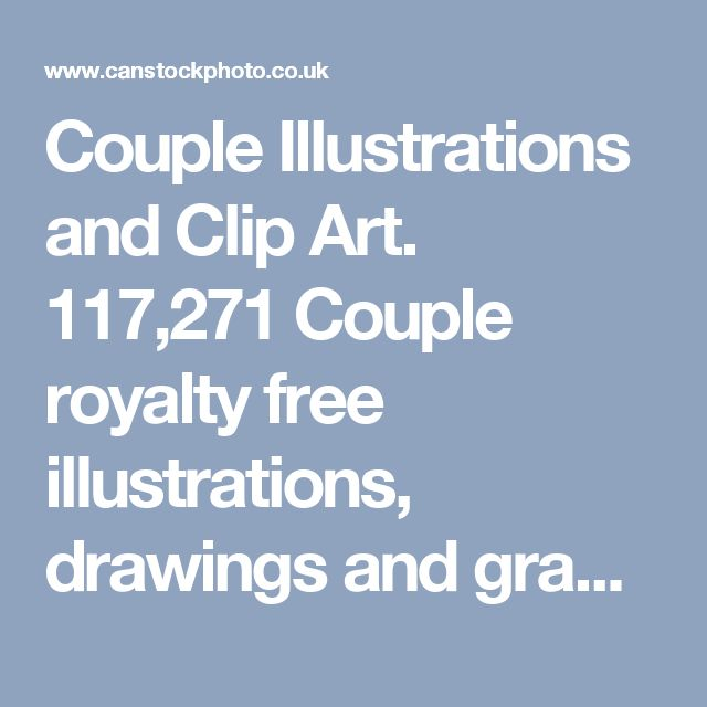 Couple Illustrations and Clip Art. 117,271 Couple royalty free illustrations, drawings and graphics available to search from thousands of vector EPS clipart producers.