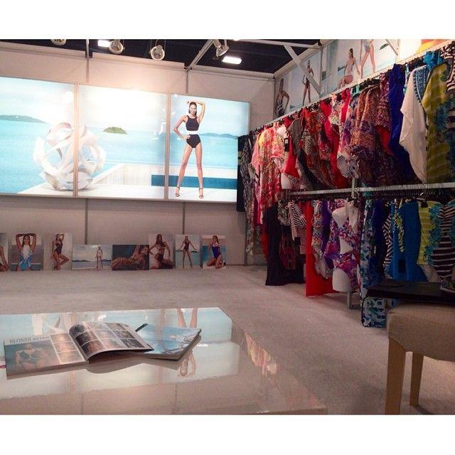 It's go time! The #JETSswimwear showroom at #MiamiSwimShow Xx