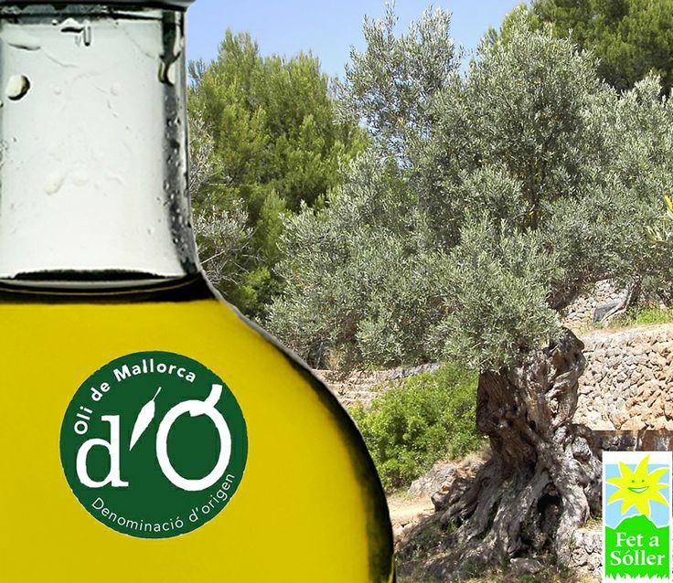 Olivenöl mit Ursprungszertifikat Oli de Mallorca, Olioil from mallorca with P.D.O. Oli de Mallorca