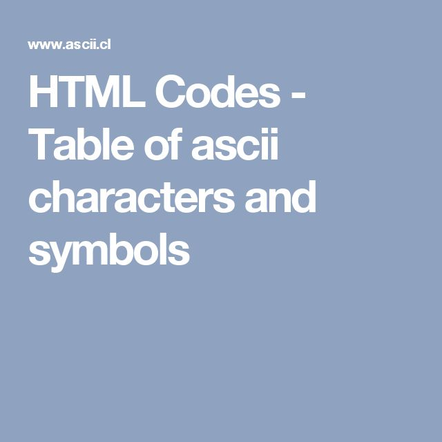 how to find ascii characters in excel