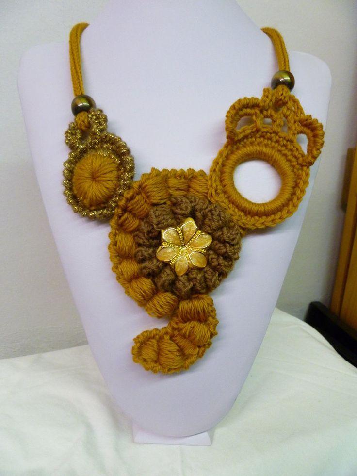 collana autunno caldo, by dal cesto di lana, 20,00 € su misshobby.com