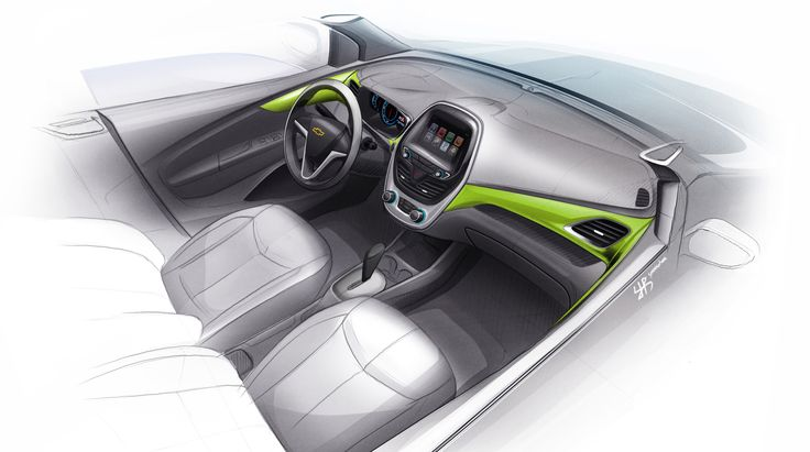 Next Generation Spark Interior Concept 02
