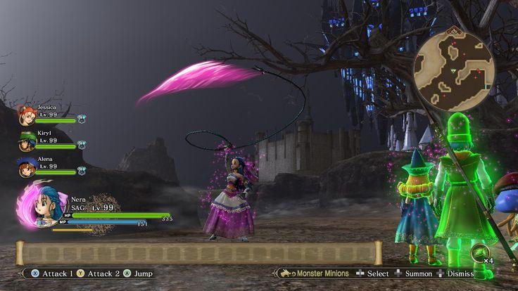 Dragon Quest Heroes II Nera Flora Jessica Alena Kiryl Cheat Engine Mage Sage Whip ドラゴンクエストヒーローズ ドラゴンクエストヒーローズ2 フローラ