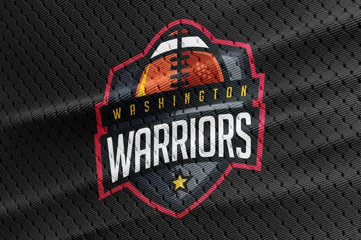 Warriors - Football Team Logo Template by Odin_Design