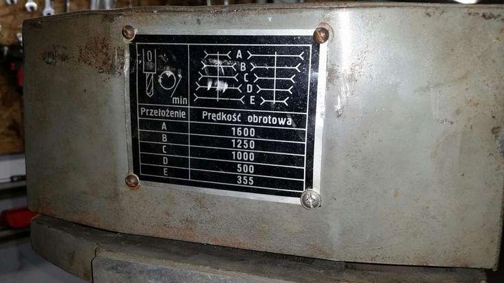 1 899 zł: Wiertaka w fajnym stanie. Sprawna. Nie picowana pod sprzedaż. Była używana w politechnice gdańskiej. Nigdy nie widziała produkcji. Polecam