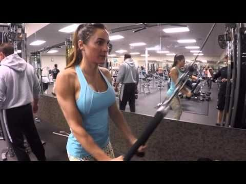 8 Week Body Transformation: Day 41 Back and Biceps - Fitness Food Diva