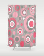 Crash Pad Designs- mod pink shower curtains