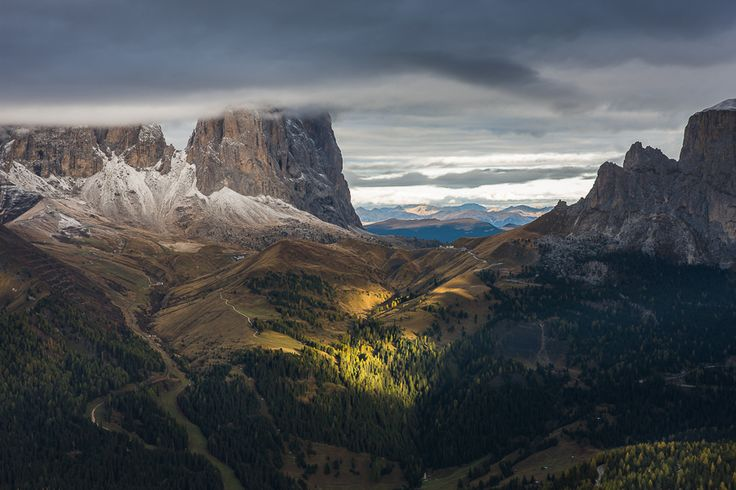 This photo was taken during a photo workshop in the Dolomites October 2012.