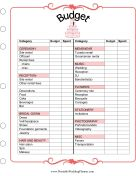 Free printable wedding planner. This has a bunch of forms from budgets to song lists. Seems very helpful and will keep us organized and keep our planning on track. Very. Cool.