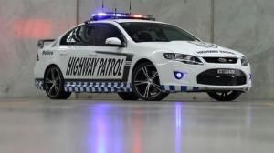 Ford Falcon GT RSPEC is the most powerful police car in Australia