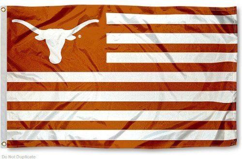 Texas Longhorns Football Flag