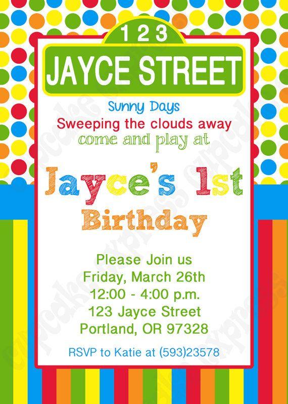 DIY Sesame Street Inspired 1 PRINTABLE Birthday by CupcakeExpress2, $10.00