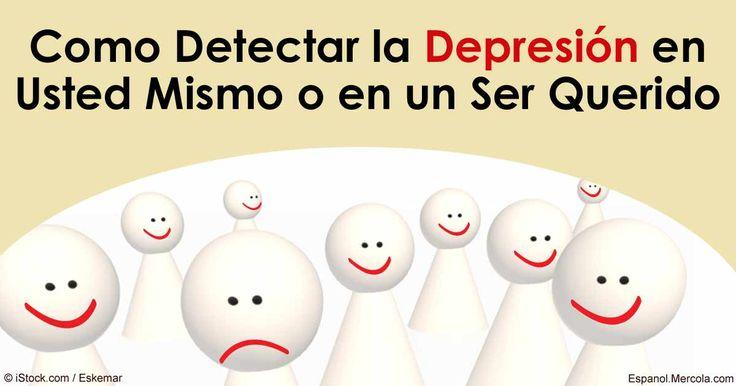 Descubra como detectar y prevenir la depresión sin el uso de antidepresivos, que vienen cargados con efectos secundarios. http://articulos.mercola.com/sitios/articulos/archivo/2016/04/28/como-revertir-la-depresion-sin-antidepresivos.aspx