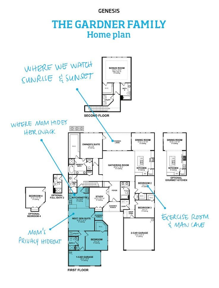 Lennar Next Gen Home Floor Plans
