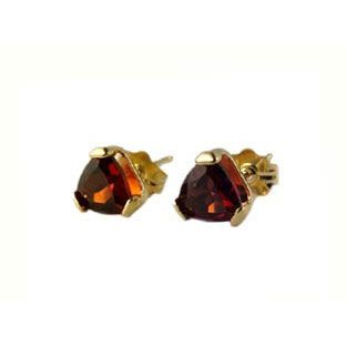 14K Gold Garnet Birth Stone Post Pierced Earrings  #Christmas 2016 #Jewelry #Personalized #Unique #Simple #Gifts @ Gemologica.com #Xmas #Gift guide finder ideas for #Him #Her #Kids #Jewellery #couponcode #deals #sale Stocking Stuffer #Ideas. #Presents for girlfriends, boyfriends, children, men, women from the #Gemologica Jewelry Store. #Earrings #Rings #Necklaces #Bracelets #Gold #Silver #Fashion #Style