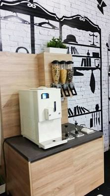 A small corner with our new SC 150 GR on display at Sweet Targi 2015, in Poland.