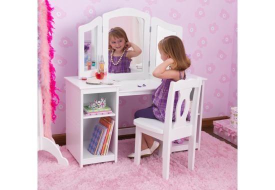 Deluxe Vanity & Chair - birthday gift? Ashlyn would LOVE!