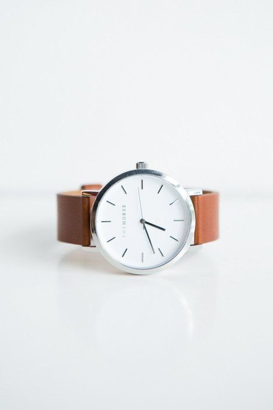 "thevintagologist: ""designbinge: "" TheHorse Leather watch "" Follow…"