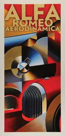 Alain Levesque, Alfa Romeo Aerodinamica print