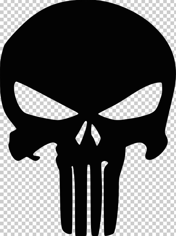 Punisher Logo Marvel Comics Decal Png Black And White Bone Decal Fantasy Fictional Character Punisher Art Punisher Logo Stencil Art