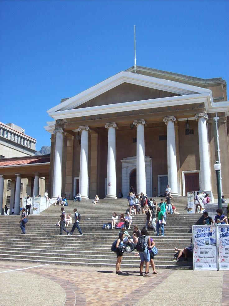 Stellenbosh University in Cape Town, South Africa