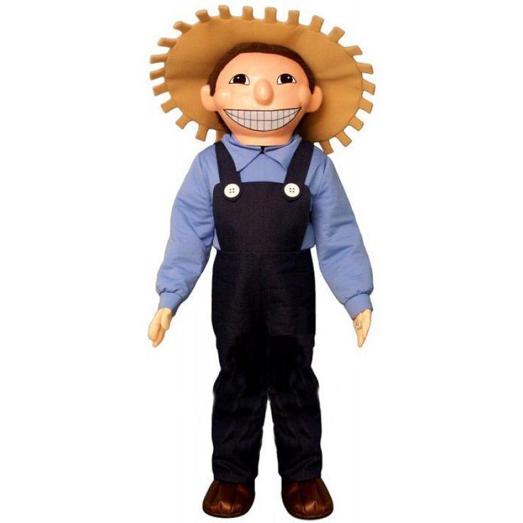 Colonial man lightweight mascot costume in 2020 cartoon