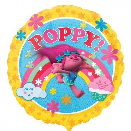 """Co za fryzura :)  Trolle to przepełnione radością, rozśpiewane stworki, które mają bajecznie kolorowe włosy i niezwykłe fryzury.  Na okrągłym, foliowym balonie 17"""" mamy jedną z bohaterek bajki Trolle - Poppy.  Jak zwykle, z uwagi na zaniżanie kosztów wysyłki balonów z helem nie wysyłamy pocztą, tylko odbiór osobisty.  Bez helu - wyślemy:)  http://www.niczchin.pl/balony-foliowe-postacie-z-bajek/3982-balon-foliowy-17-poppy-z-bajki-trolle.html  #balony #trolle #poppy #balonyzhelem #niczchin…"""