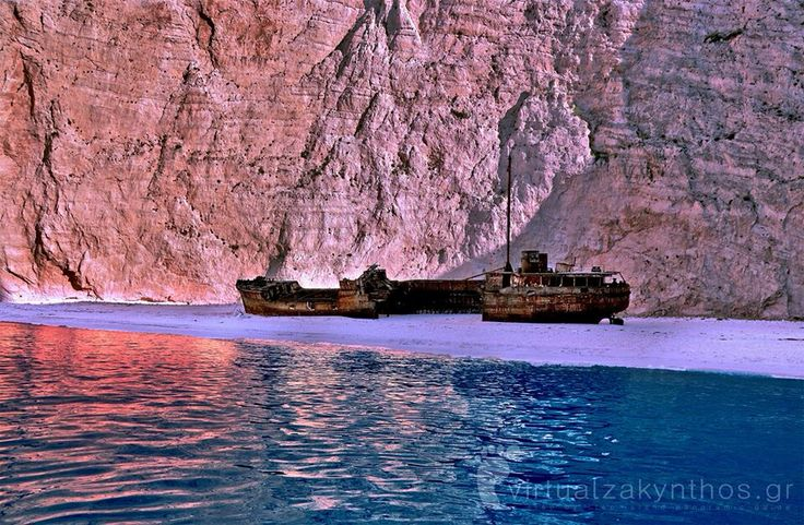While photo-shooting at the famous Shipwreck (Navagio) in Zante for Virtualzakynthos.gr