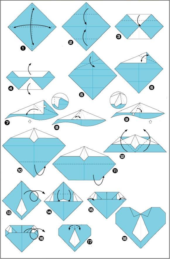 origami vaderdag knutsel Leuke Vaderdag knutsel