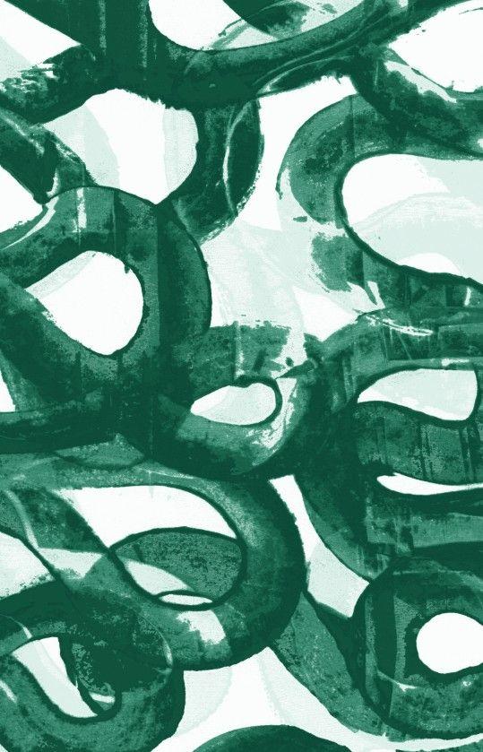 Hand printed #textile #pattern #print   www.kellywearstler.com