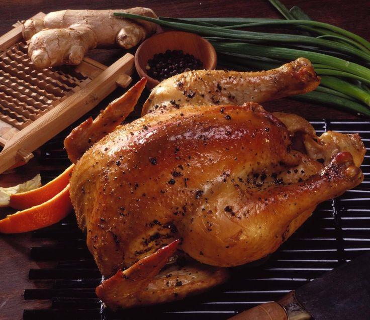 Gyömbéres fokhagymás sült csirke – hát ez valami csoda finom!